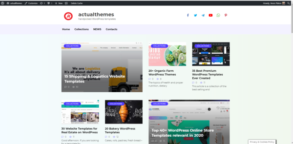actualthemes.com - WordPress Themes online store (Affiliate )