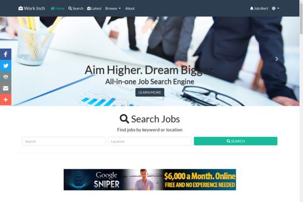 workinch.com - All-in-One Job Engine. Killer Design & Passive Revenue on full autopilot.