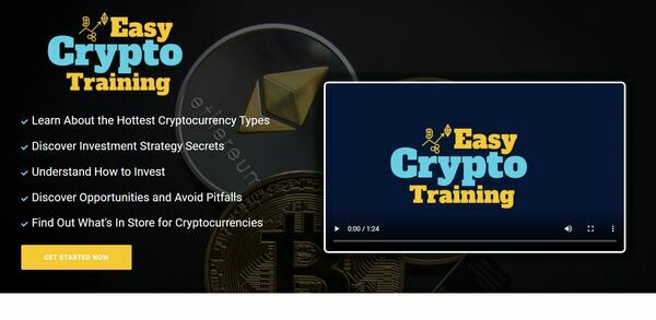 EasyCryptoTraining.com - Cryptocurrency Course Store, Digital Product, Wordpress/WooCommerce