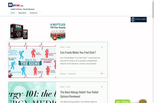 martmic.com - Health and Money : Reviews