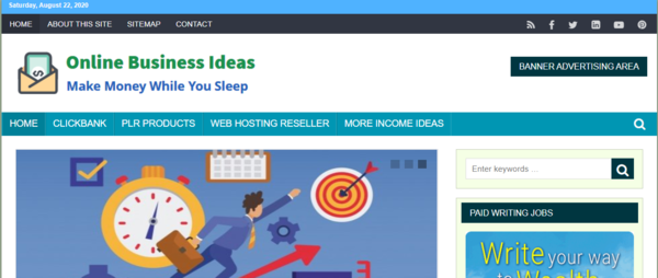 IncomeIdeas.xyz - Make 100% Passive Income Working from Home - Great Money-Making Ideas