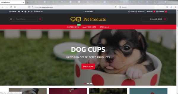 us-petproduct.com - #1 PREMIUM PET Products SITE w 100+ ITEMS