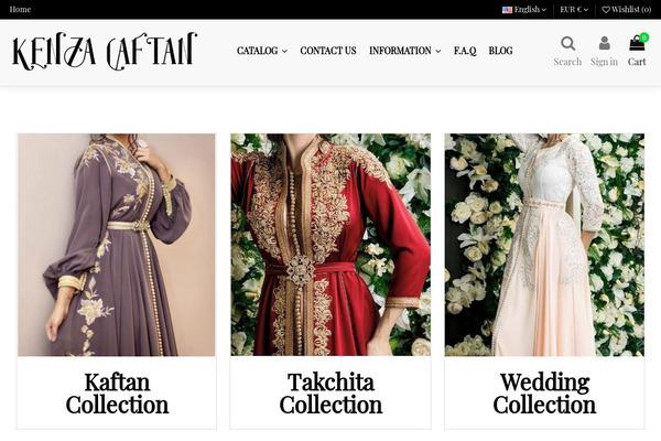 kenzacaftan.com - e-Commerce / Design and Style