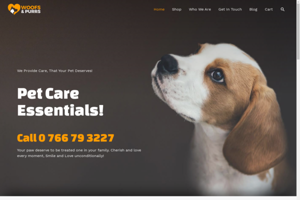 mypaw.store - Pet Care Drop shipping Store Started to Rank Organically without any backlinks