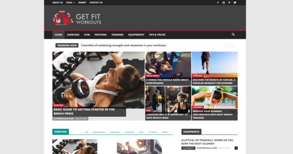 GetFitWorkouts.com - GetFitWorkouts.com: Fitness, Workout, Health, Gym, Training