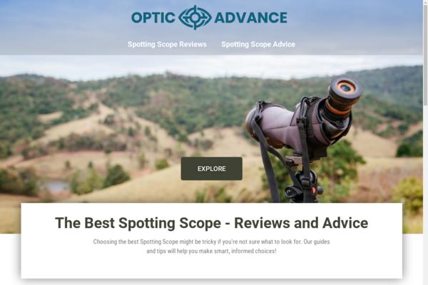 opticadvance.com - Spotting Scopes | Content Site | Affiliate Marketing, Ads & More!