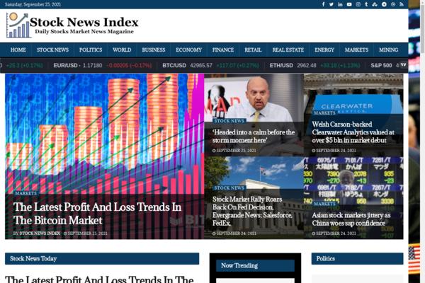 StockNewsIndex.com - Automated Stock Finance Market News Blog