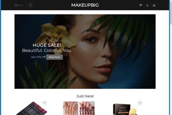 makeupbig.com - MakeupBig.com Premium Automated Drop Shipping Store - Worth over $1500