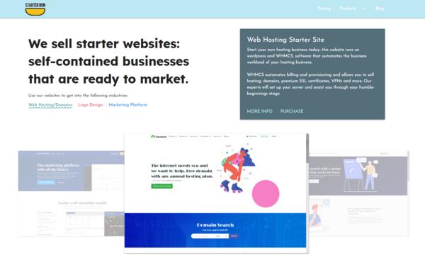 starterbun.com - Sell Starter Sites: 2 Sites Included! Premium Support.
