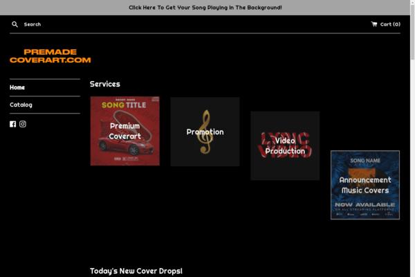 premadecoverart.com - Graphic Design Business