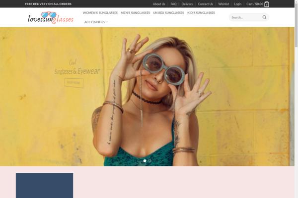 lovessunglasses.com - Profitable Sunglasses eCommerce store - $352 startup Revenue,[$5000/mo Potential