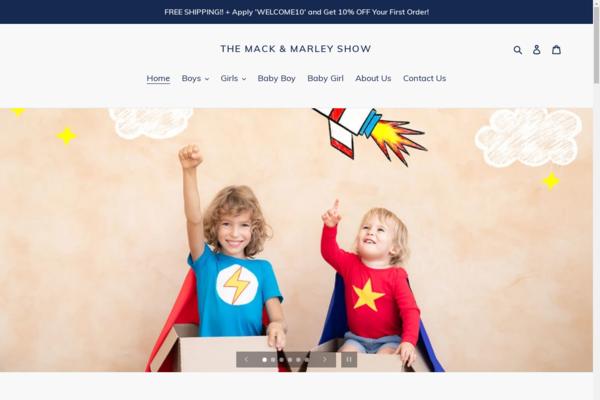 themackandmarleyshow.com - Unique Children's Clothing