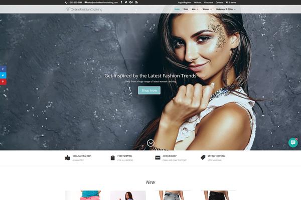 OnlineFashionClothing.com - Fashion Dropship Store | 12yrs Domain | EU Supplier | FREE HOSTING