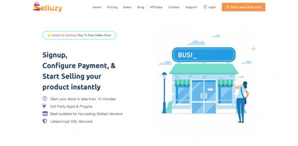 selluzy.com - Selluzy.com -Turnkey SaaS Business Similar to Shopify by WordPress & Woocommerce