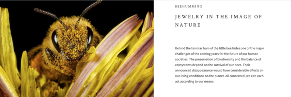 BeeHumming.com - This is a Shopify store that specializes in the sale of bee-themed jewelry. Earrings, bracelets, rings, and necklaces are just several of the products sold.