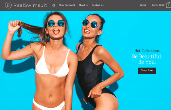 RealSwimsuit.com - RealSwimsuit.com - Automated Dropshipping Store|Domain worth +$1,400