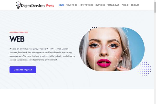 DigitalServicesPress.com - Digital Agency Business No Experience Necessary