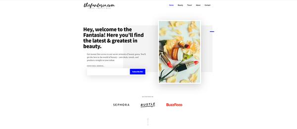 thefantasia.com - Advertising / Health and Beauty