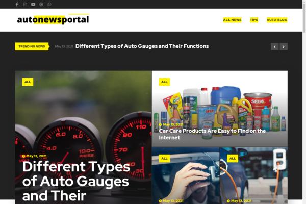 autonewsportal.com - Auto Blog with Unique Content 15,000 + Words For Passive Income