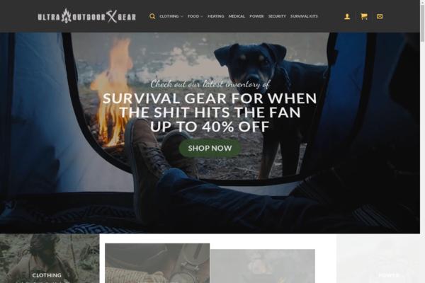 UltraOutdoorGear.com -  Premium Outdoor & Survival eCommerce Video Store - $3400 per month + Training