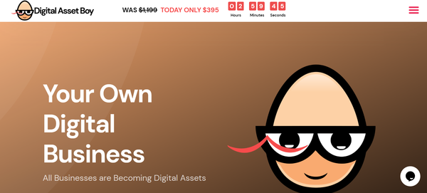 DigitalAssetBoy.com - You Can Own Your Own Digital Services Business Agency