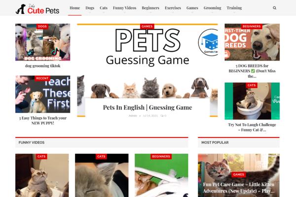 DailyCutePets.com - Fully Automated Cute Pets Blog + Free Hosting (Bonus) - Earn Upto $5k/Month