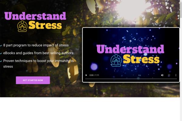 UnderstandStress.com - Stress eBook and Resources Bundle Store, Digital Product, Wordpress/WooCommerce