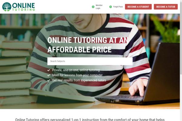 onlinetutoring.com - Online Tutoring Platform
