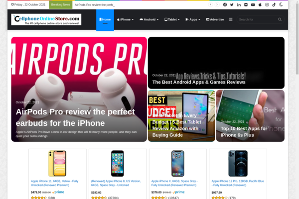 CellphoneOnlineStore.com - CELL PHONE STORE | Complete products Apple, Android, Tablet etc..| Automated | Newbie Friendly | No Experience Needed | MUST SEE