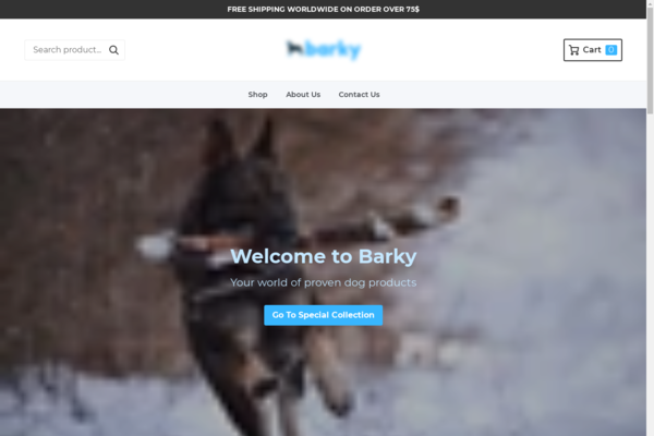 shopbarky.com - e-Commerce / Home and Garden