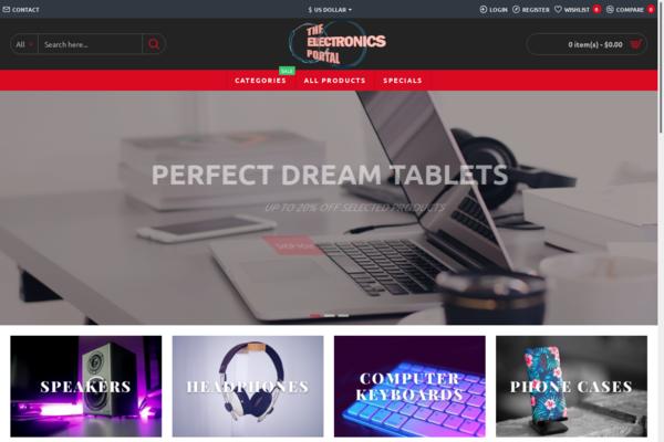 eletronicsportal.com - #E Commerce#Domestic Drop Shipping#1 Premium Headphones, Cameras, Tablets Cases