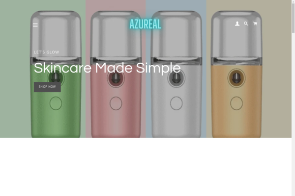 azureal.shop - Azureal is an fully automated beauty ecommerce store.