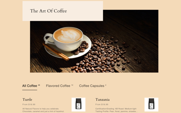 CoffeePurity.com - U.S. Supplier   Sell Coffee Worldwide   Fast Shipping   High-Quality Products   $1341 Domain Value