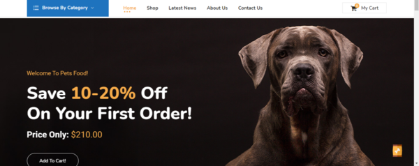 PetSuppliesPrice.com - Premium Pet Food Dropship and Affiliate eCommerce STORE - 100% Automated!