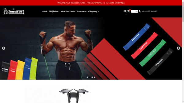 homecaregym.com - USA Dropshipping Store for sale  Gym Products   Delivery within 7 day