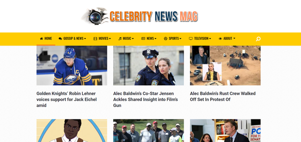 CelebrityNewsMag.com - CelebrityNewsMag.com | 100% Fully Automated | Newbie Friendly Affiliate Site | Ready To Start Earning NOW, Just Send Traffic! | *BIN Bonuses* | FREE 1 Year SSL
