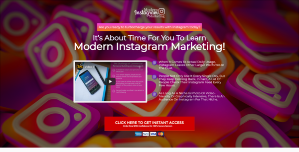 ModernInstaMarketing.club - 10 eCommerce Websites With Digital Products | Exciting Buy It Now Bonuses