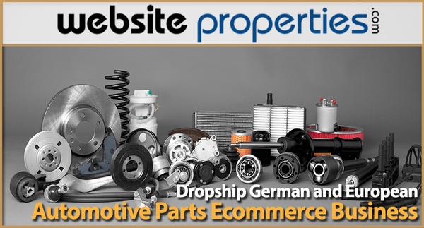 German and European Automotive Parts Ecommerce Business - e-Commerce / Automotive