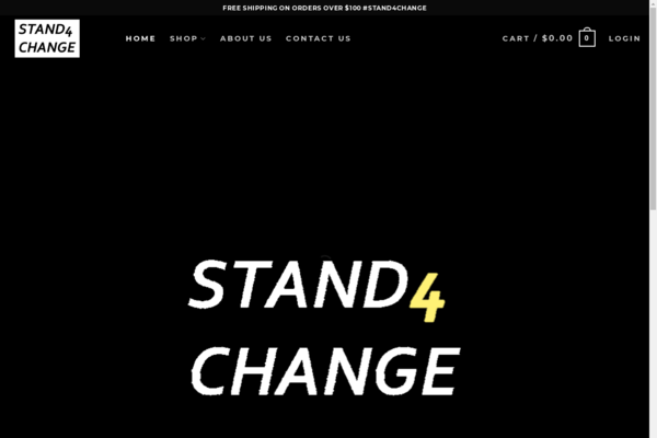 stand4change.net - Trending Social Issues Print On Demand Store
