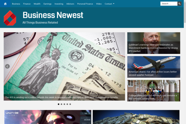 BusinessNewest.com - Fully Automated Business News Website. Get 5 Automated Websites worth over $900