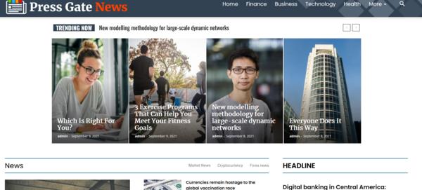 Press Gate News - Auto Blog Site - Google News Approved!