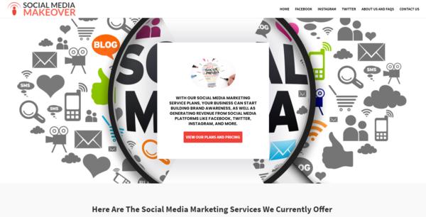 SocialMediaMakeover.co - Social Media Agency, Newbie Friendly, Fully Outsourced, Net Profit - $554 per/mo
