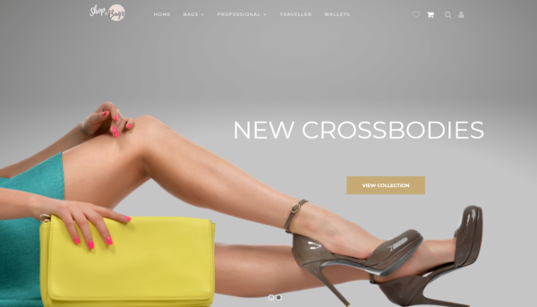Shop & Bags - $4k Earnings   Highly Profitable Dropship Business in Bag Niche   Modern Design made by Professionals