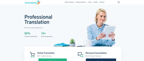 translatej.com - Hot Automated Translation Company. Newbie Friendly and Outsourced Business.
