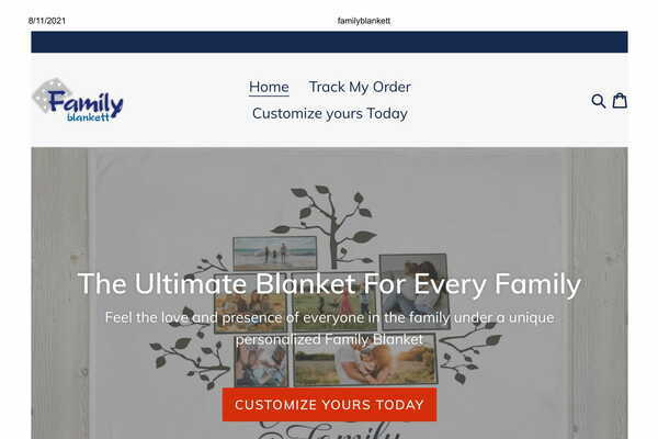 familyblankett.com - Perfect Gift Giving Business   100% Unique Product   Business Plan Included  