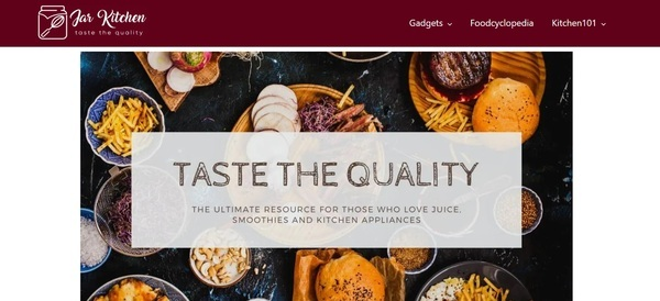 Jarkitchen.com - -Only Tier 1 traffic -Ultra high-quality content -%100 Manual growth -Extremely clean and powerful backlink profile -Income : Amazon / Ezoic