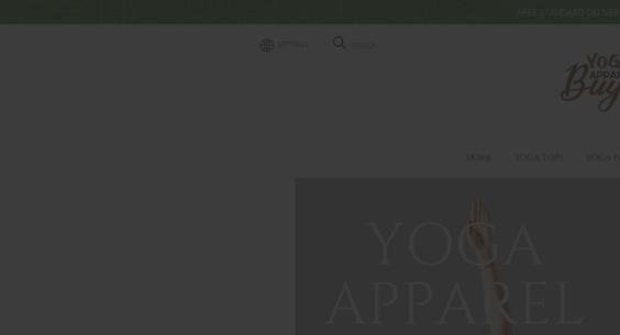 BuyYogaApparel com — Starter Site Listed on Flippa: YOGA