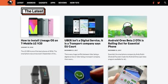 Droidmen com — Website Listed on Flippa: 4 y/o Google News