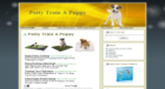 pottytrainapuppy net — Website Sold on Flippa: NEW DOG NICHE WP BLOG