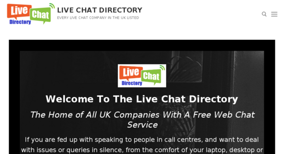 livechatdirectory co uk — Website Listed on Flippa: 4 Month old